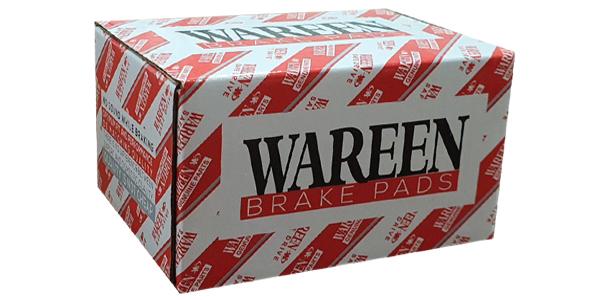 برند وارن wareen تولید کننده لنت ترمز های دیسکی و کفشکی
